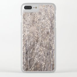 Lace Curtain Clear iPhone Case