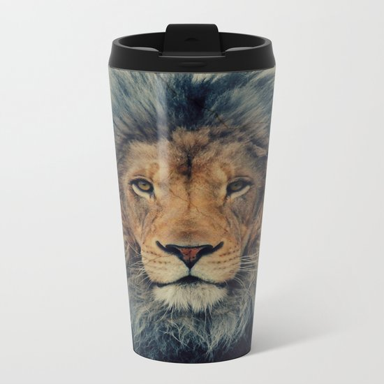 Lion King Metal Travel Mug
