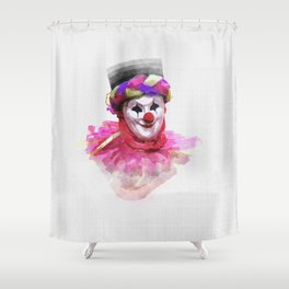 Joker or clown? Shower Curtain