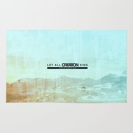 Let All Creation Sing Rug