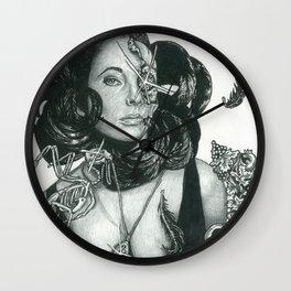 Zombie Liz Taylor Wall Clock