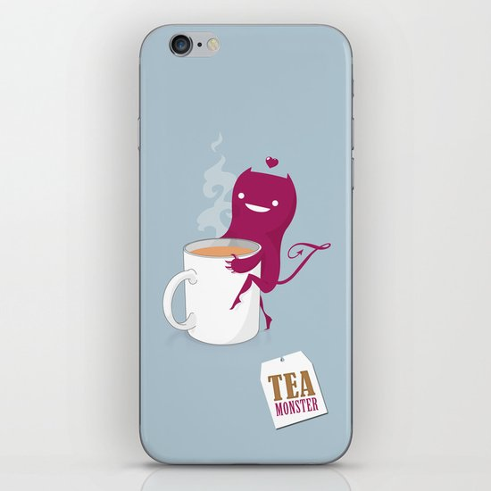 Tea Monster iPhone & iPod Skin
