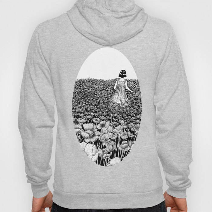 The Field of Poppies Hoody