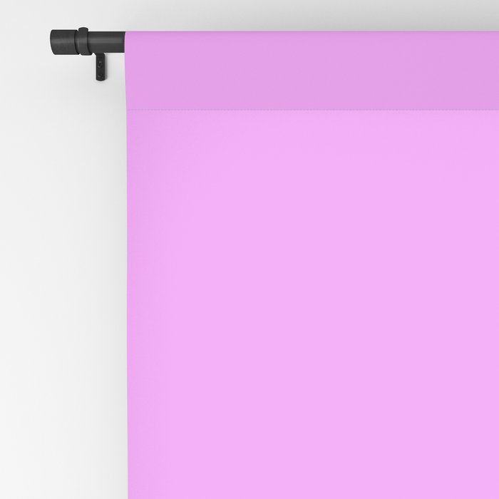 Spring - Pastel - Easter Purple Solid Color 2 Blackout Curtain
