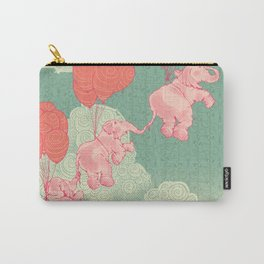 Floating Elephants Carry-All Pouch