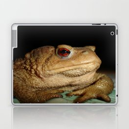 Common European Toad, Bufo Bufo Laptop & iPad Skin