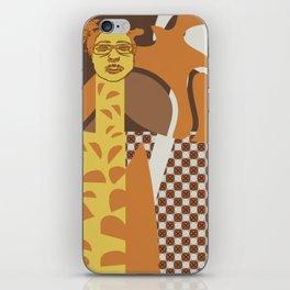 Giraffe wannabe iPhone Skin