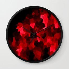 Lava Abstract Wall Clock