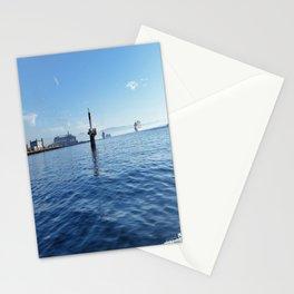 Traffic on High Seas Stationery Cards