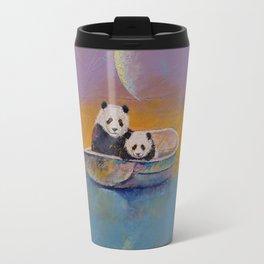 Panda Lake Travel Mug