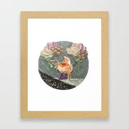 Yoyo Framed Art Print