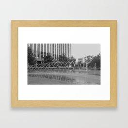 Downtown Dallas Framed Art Print