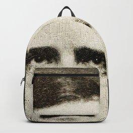 Edgar Allan Poe Engraving Backpack