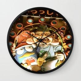Irasshaimase Wall Clock