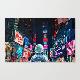 Another Night Canvas Print