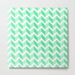 ERIN ((seafoam green)) Metal Print