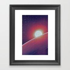 SPACE III Framed Art Print