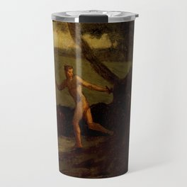"Jean-François Millet ""Study for 'Mercury Leading the Cows of Argus to Water'"" Travel Mug"