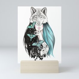 Luna Mini Art Print