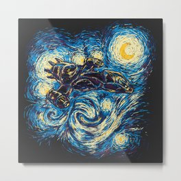 Starry Flight (Serenity) Metal Print