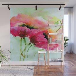 Beautiful Poppy Wall Mural