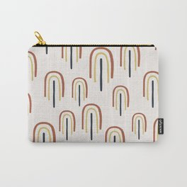 Mid Century Modern - Somewhere Over The Rainbow Carry-All Pouch
