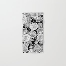 ROSES ON DARK BACKGROUND Hand & Bath Towel