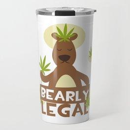 Bearly Legal Travel Mug