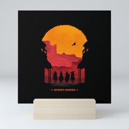 Sunset Riders Mini Art Print
