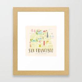 millefeuille Framed Art Print