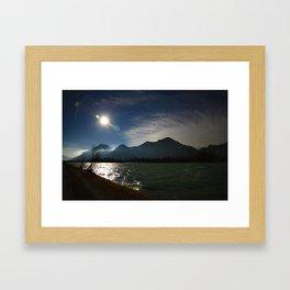 Alps at the Inn 2 Framed Art Print