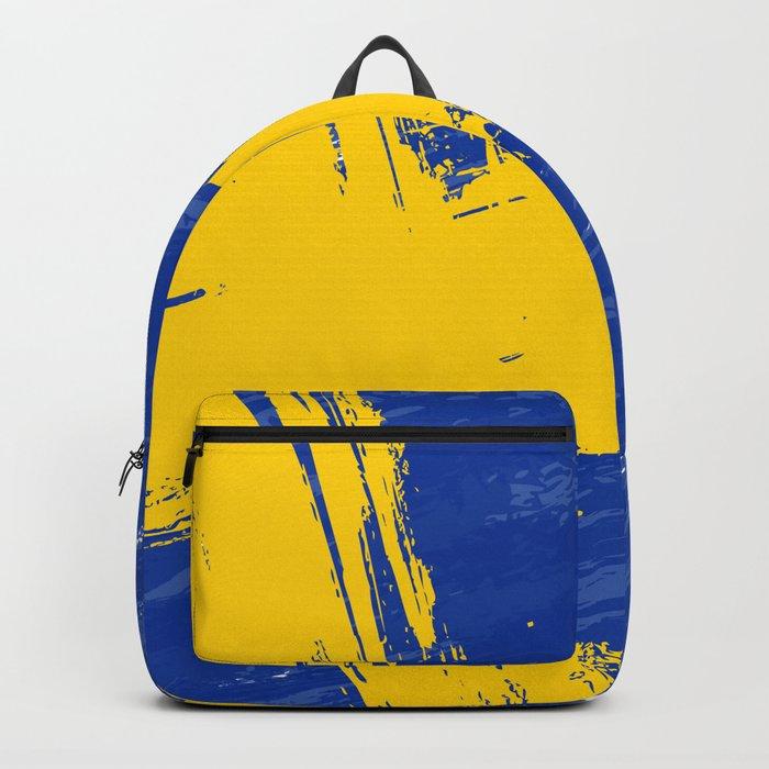 Sweden's Flag Design Backpack