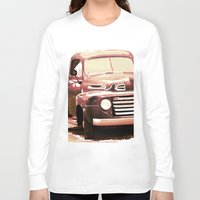 truck Long Sleeve T-shirts featuring Old Truck by Regan's World