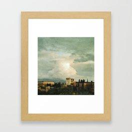 Up on the Hill Framed Art Print