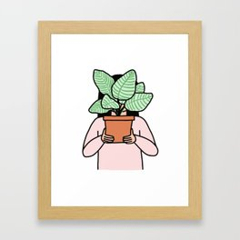 Plant Collector Framed Art Print