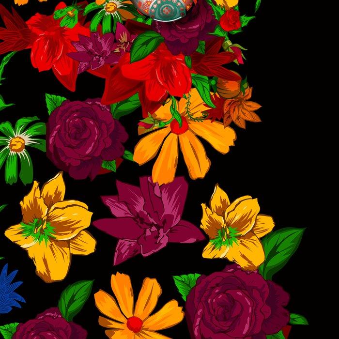 Day of the dead sugar skull flower iPhone 4 4s 5 5c 6, ipod, ipad, pillow case Leggings