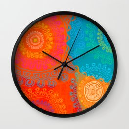 BE EXACTLY WHO YOU ARE Wall Clock