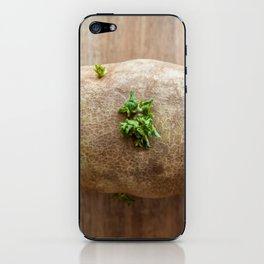 The Blooming Potato iPhone Skin
