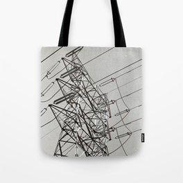 Powerlines Tote Bag