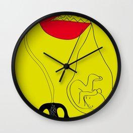 eat me Wall Clock