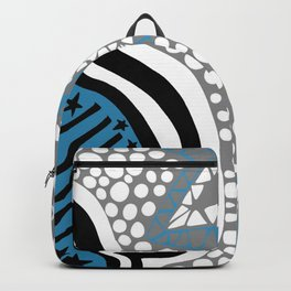 Soul Of The Dream Desert - Star Gazer (Blue and Grey Edition) Backpack