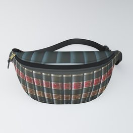 Bookshelf Books Library Bookworm Reading Fanny Pack