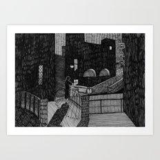 Le Notti Bianche Art Print