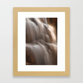 Hadlock Flicker Falls Framed Art Print
