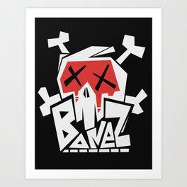 Bonez Crew Art Print