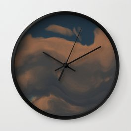 Late Afternoon (Cloud series #2) Wall Clock