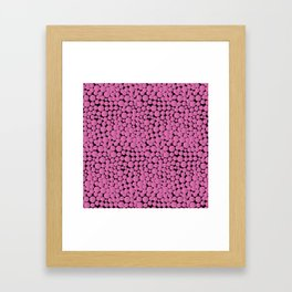 Pink Bubblegumballs! Framed Art Print