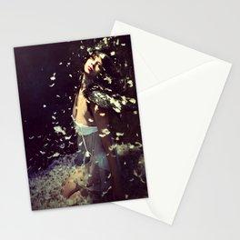 Ange noir Stationery Cards