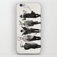 shinee iPhone & iPod Skins featuring shinee [ the deathbringers ] by Fairy Cat
