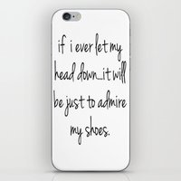 shoes iPhone & iPod Skins featuring Shoes by I Love Decor
